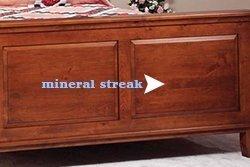 Rustic Cherry Mineral Streak