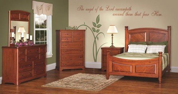 Amish Johnson Bedroom Furniture Set