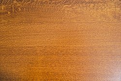 Quarter Sawn White Oak has a unique grain pattern due to the labor intensive angle it is cut at.
