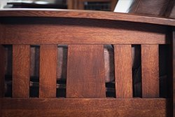 Quarter Sawn White Oak is a popular for Mission style furniture