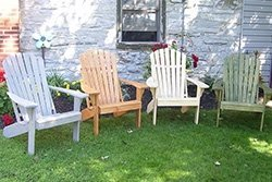 Pine Adirondack Chairs in Variety of Stains