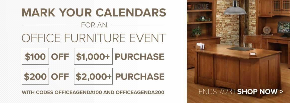 Office Furnituire Sale at DutchCrafters Amish Furniture