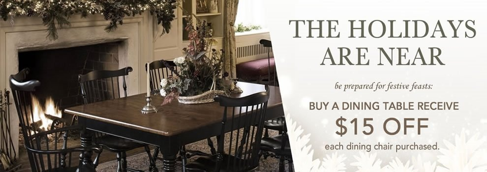 Amish Dining Trestle Table and Chair Sale