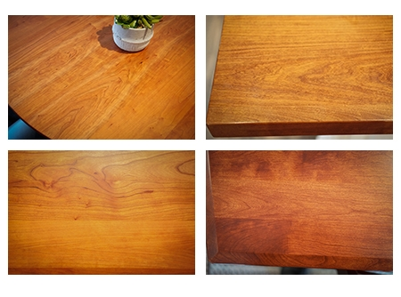 Examples of Cherry Wood Grain