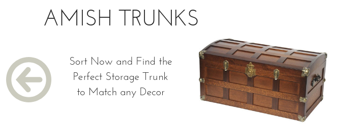 Handcrafted Amish Trunks