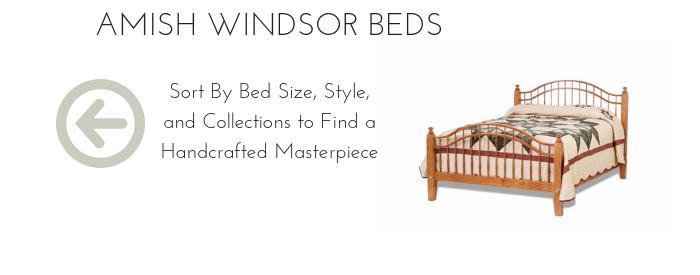 Amish Windsor Beds