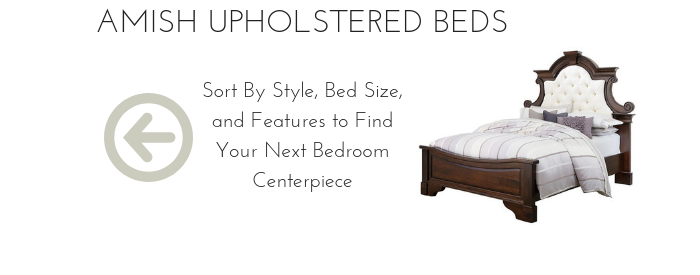Amish Upholstered Beds