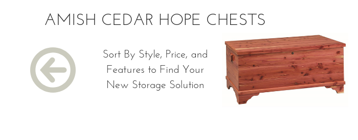 Amish Cedar Hope Chests