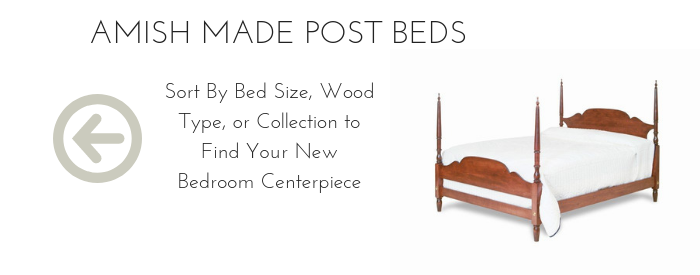 Amish Made Post Beds