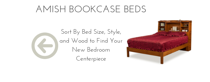 Amish Bookcase Beds