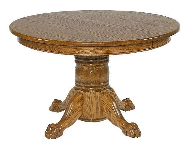 Small Round Pedestal Table By Dutchcrafters Amish Furniture