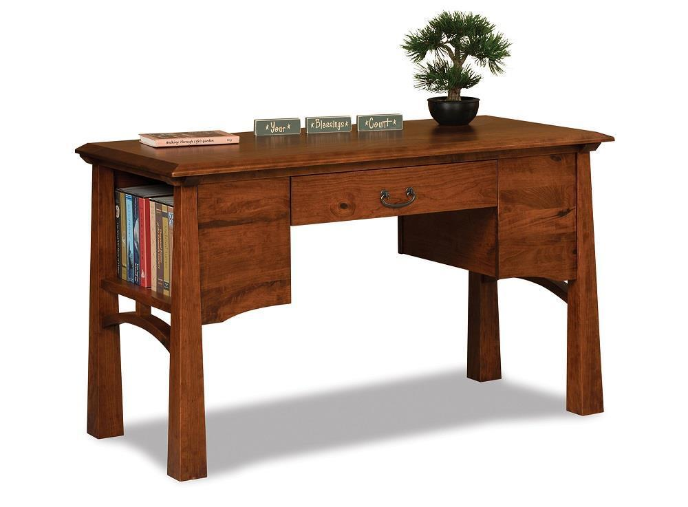 Amish Artesa Writing Desk Rh Dutchcrafters Com With Hutch 30 Inches Wide