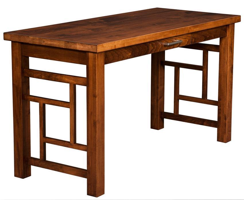 Contemporary Writing Desk From DutchCrafters Amish Furniture - Contemporary writing desk furniture