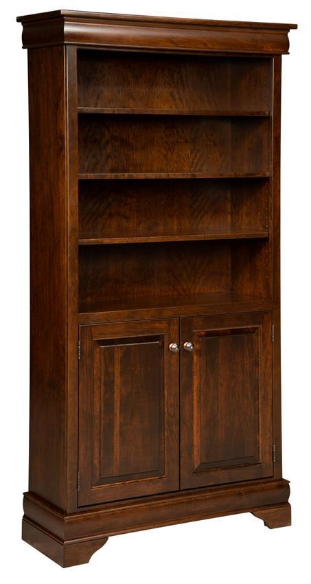 sc 1 st  DutchCrafters & Amish Fairfield Bookcase with Doors