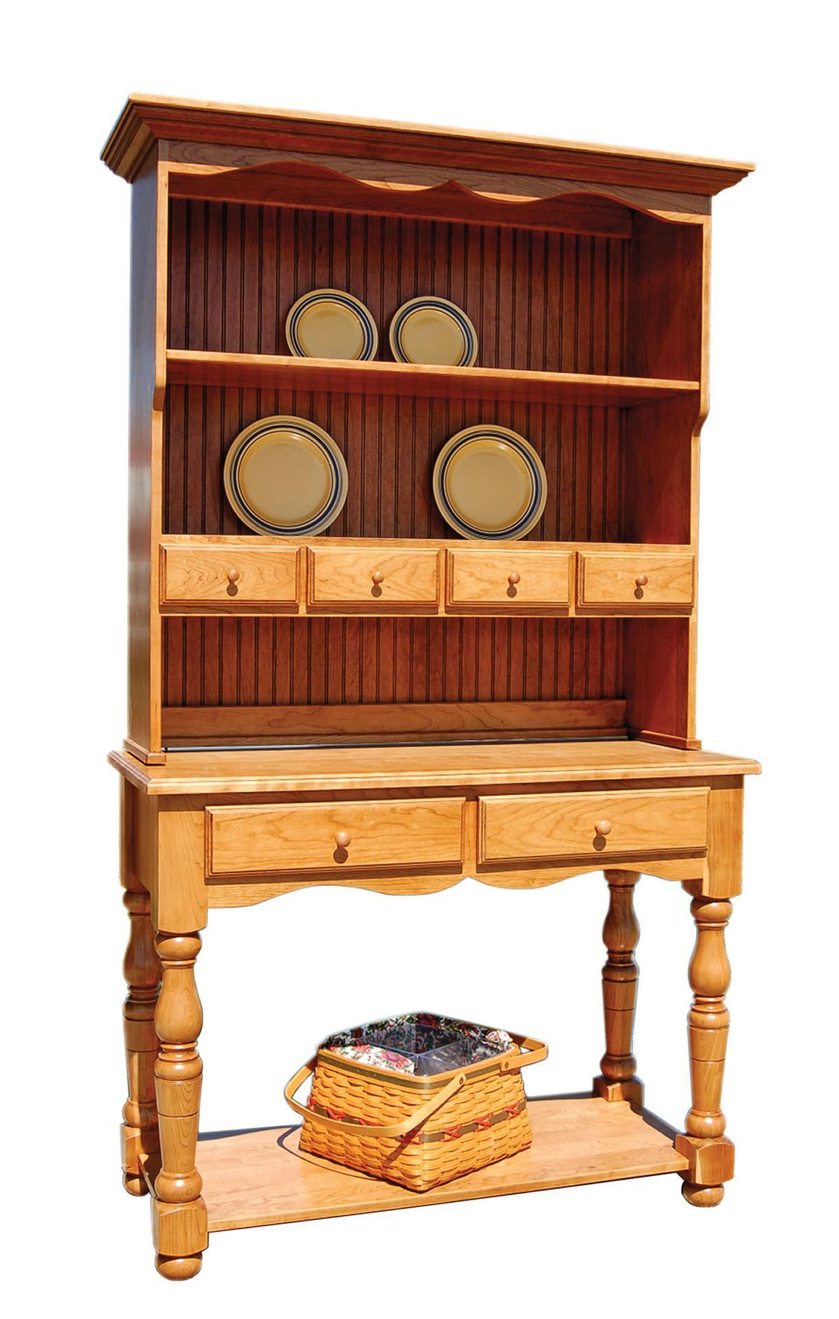 Amish French Country Farmhouse Hutch From Dutchcrafters