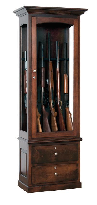Amish Heirloom Gun Cabinet
