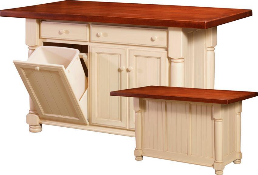 Amish Jefferson City Large Kitchen Island From DutchCrafters American - Amish kitchen island