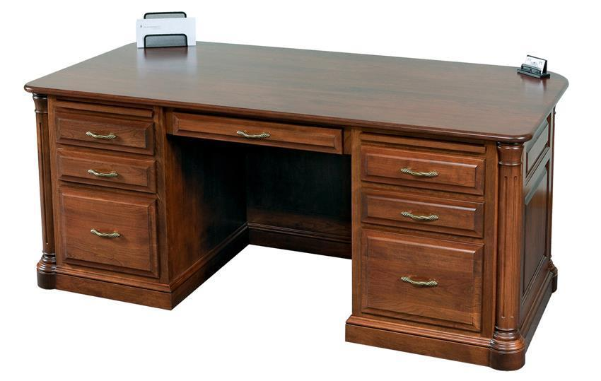Amish Jefferson Executive Desk