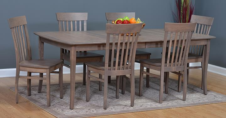 Attractive Amish Millcreek 7 Piece Dining Set 3 (Quick Ship)