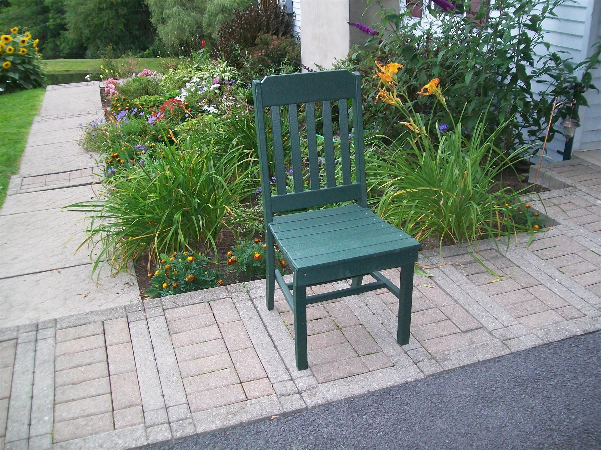 Amish Poly Traditional Outdoor Dining Chair
