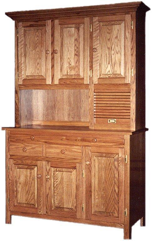 Amish Shaker Hoosier Hutch