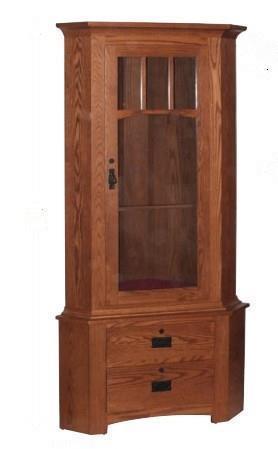 Amish Springfield 9-Gun Corner Cabinet  sc 1 st  DutchCrafters & Amish Springfield 9-Gun Corner Cabinet From Dutchcrafters