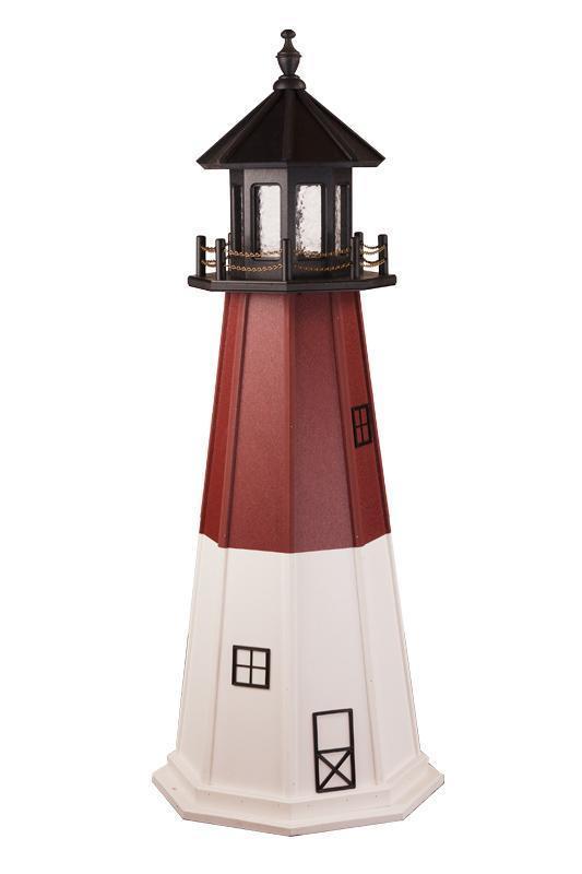 Superb Amish Made Barnegat, NJ Wooden Garden Lighthouse