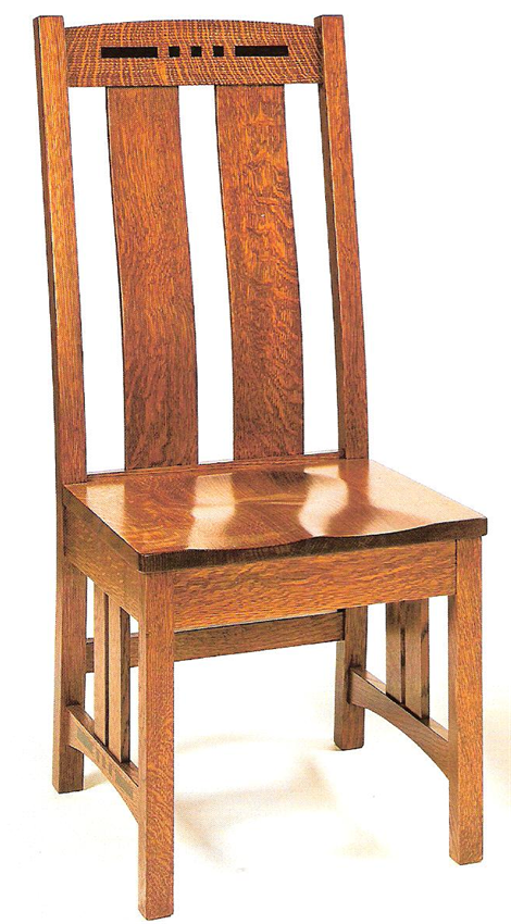 Amish Colebrook Mission Dining Chair