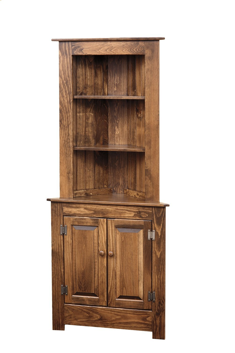 country furniture by dutchcrafters amish furniture farmhouse corner hutch in pine wood
