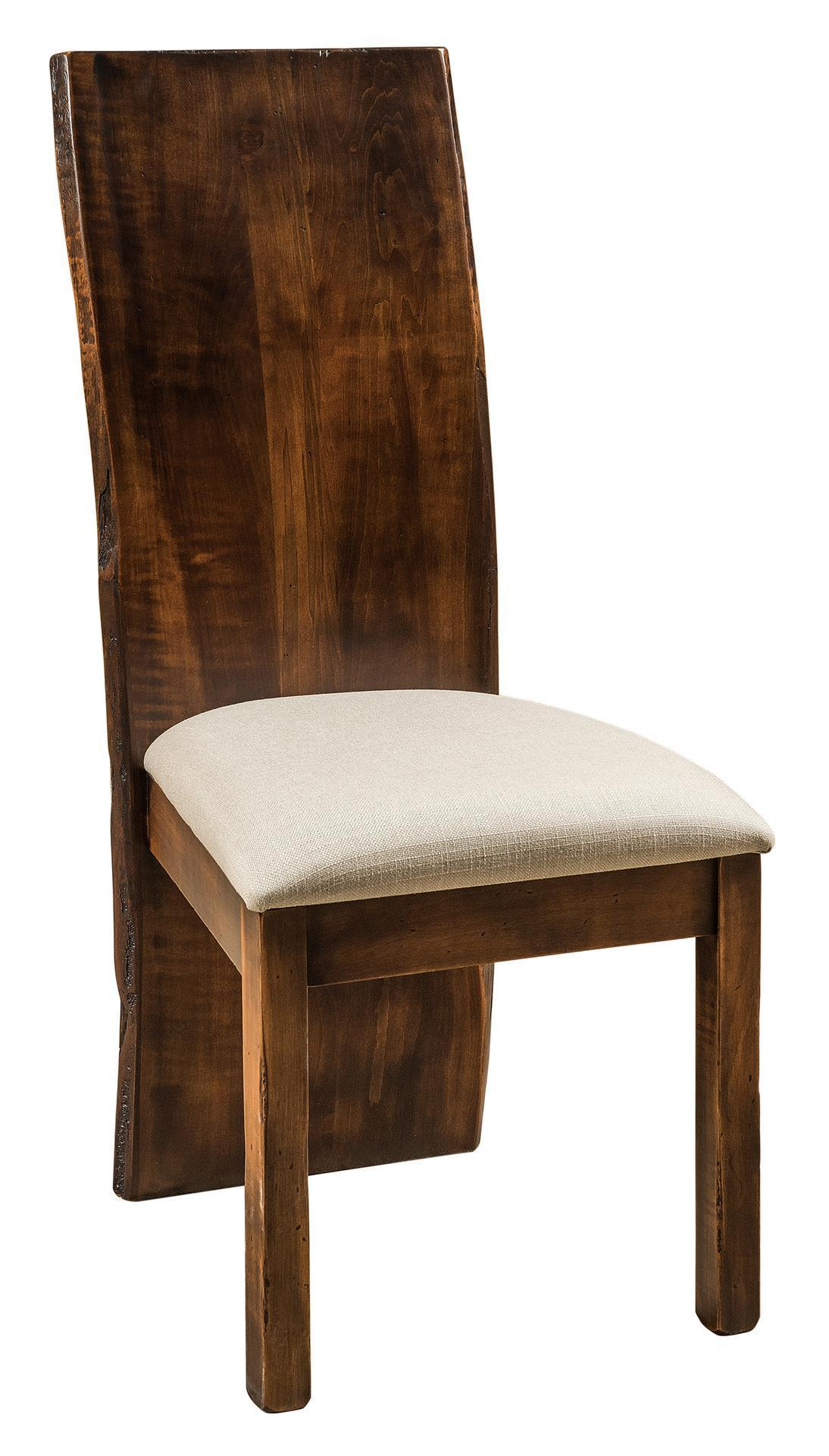 evergreen dining chair from dutchcrafters amish furniture evergreen amish contemporary dining chair
