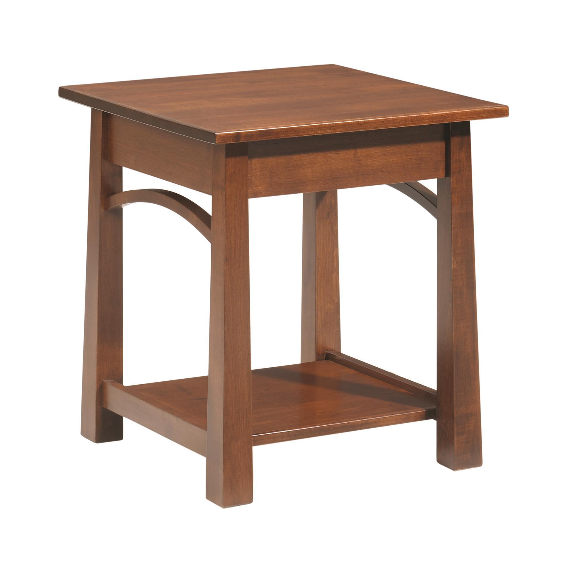 Amish Madison End Table