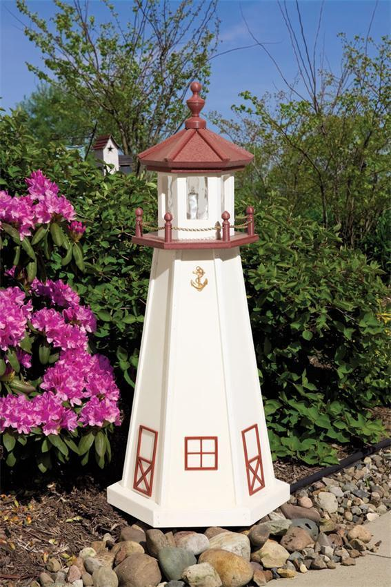 Marblehead Poly Garden Lighthouse by Dutchcrafters Amish Furniture
