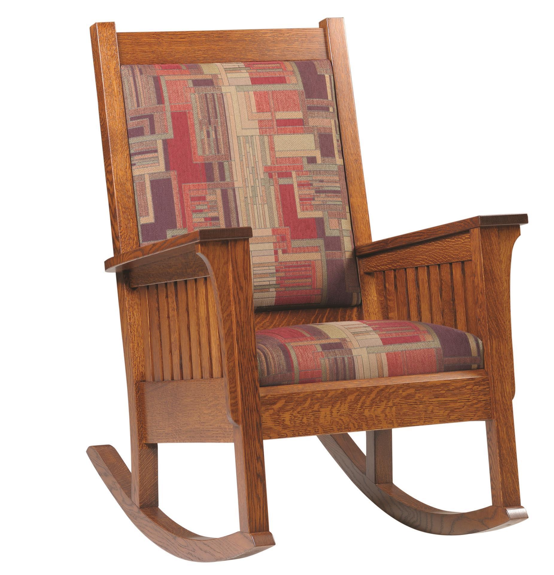 Amish Relax Mission Style Rocker