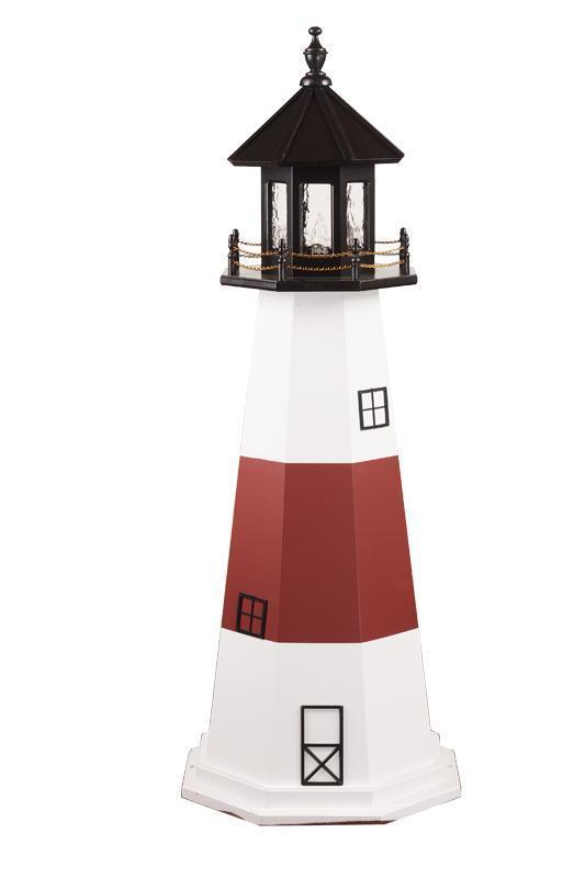 Beautiful Amish Made Montauk, NY Wooden Garden Lighthouse