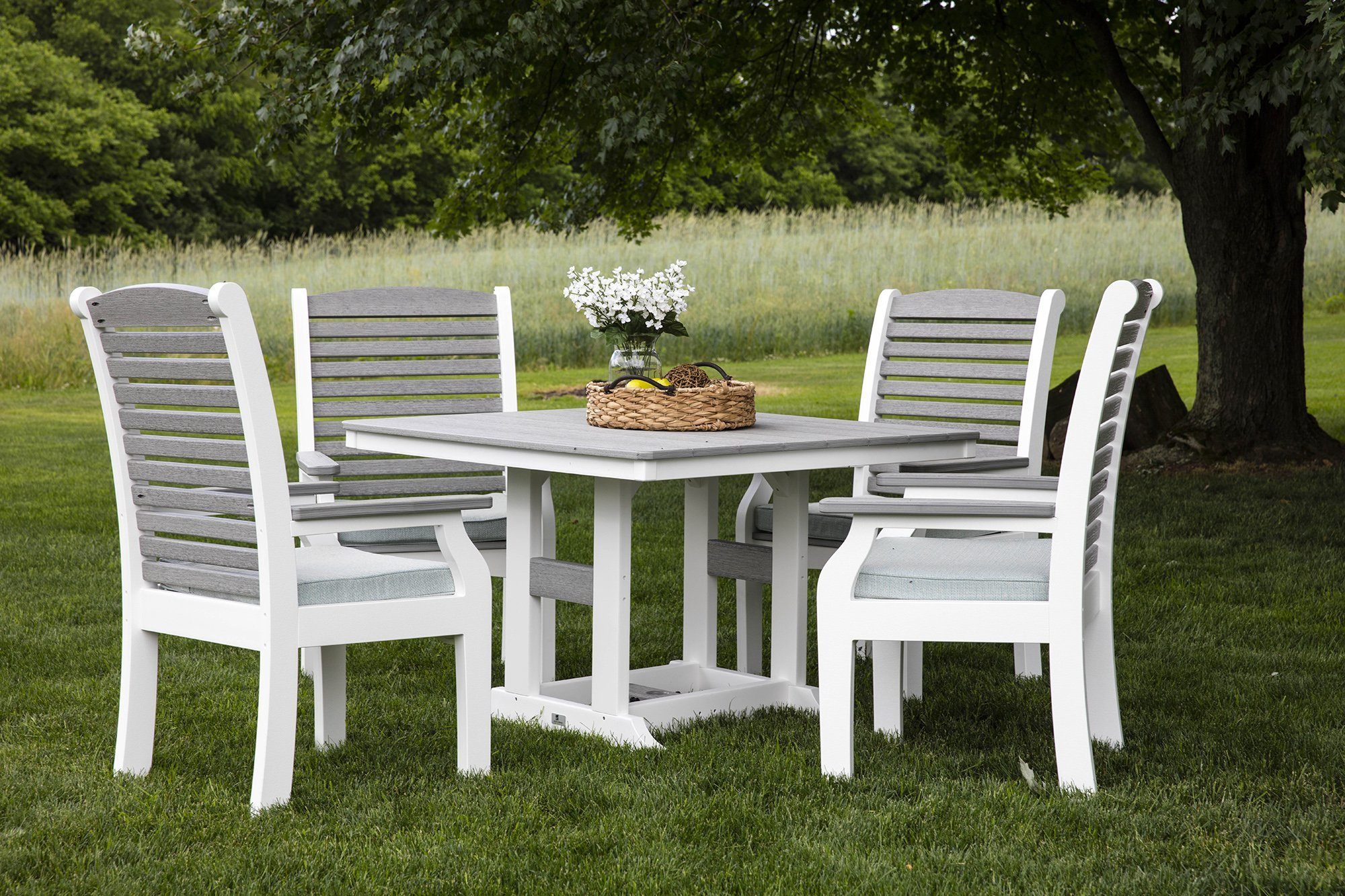 Berlin Gardens Classic Terrace Dining Set from DutchCrafters Amish