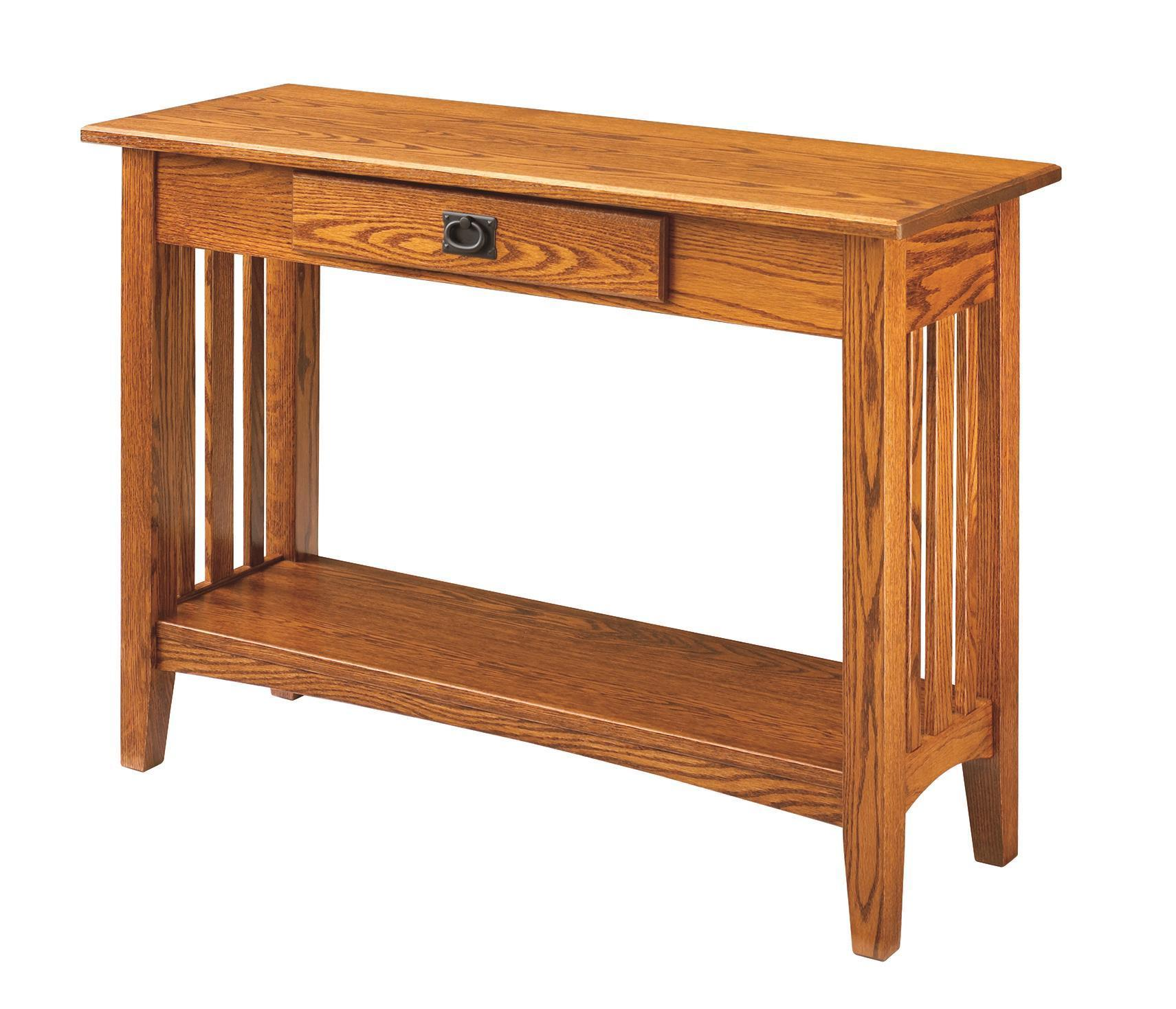 Keystone Collections Mission Hall Table from DutchCrafters Amish
