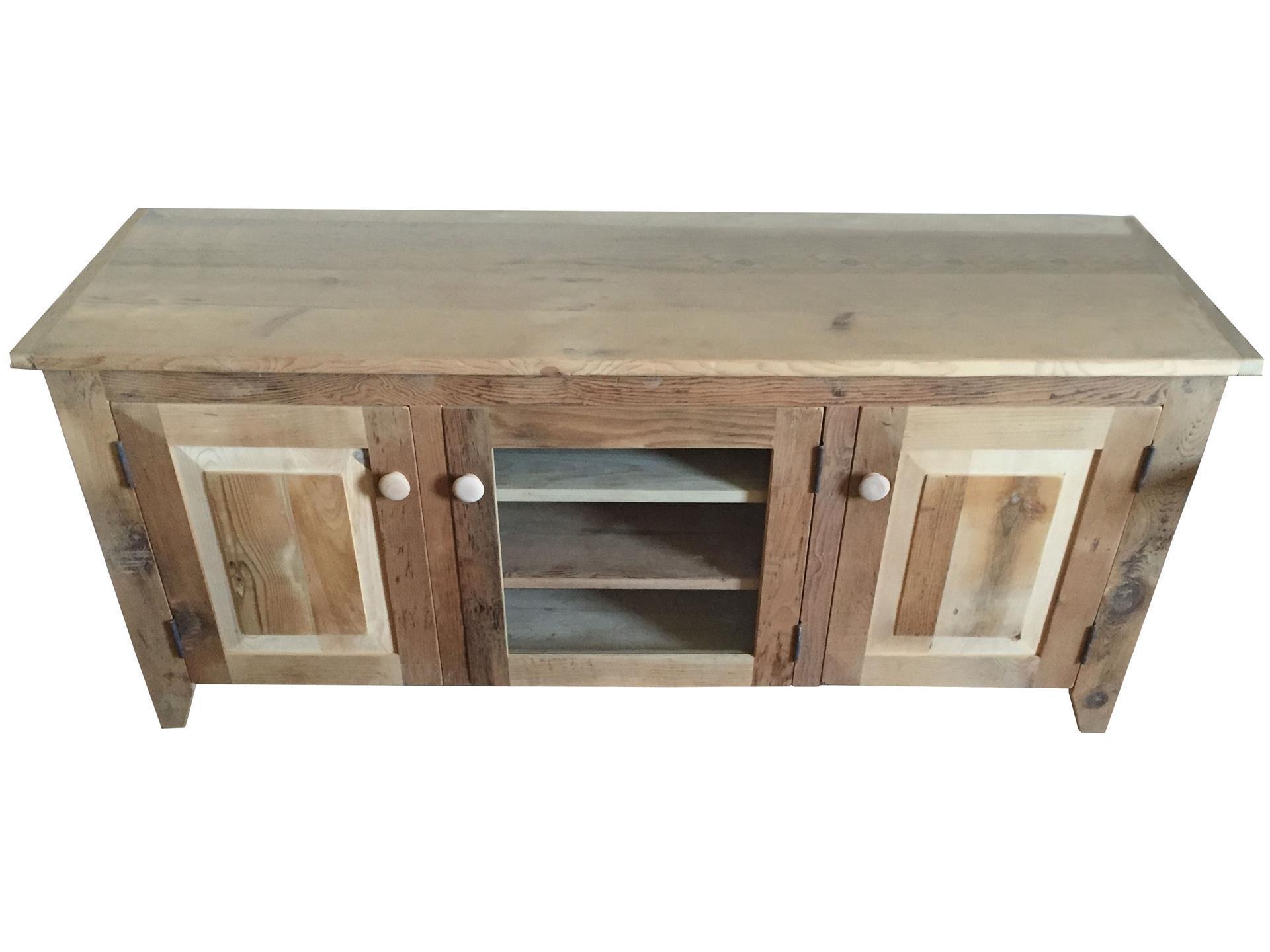 Rustic Barn Wood Tv Stand