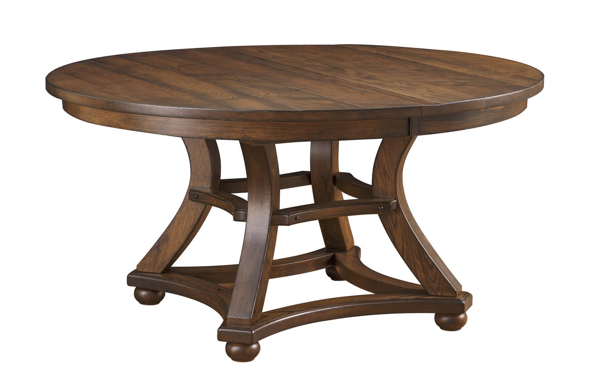 Amish Marshfield Table With Optional Lazy Susan Tops