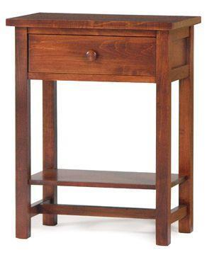 modern shaker furniture. Amish Modern Shaker Night Stand With Shelf Furniture