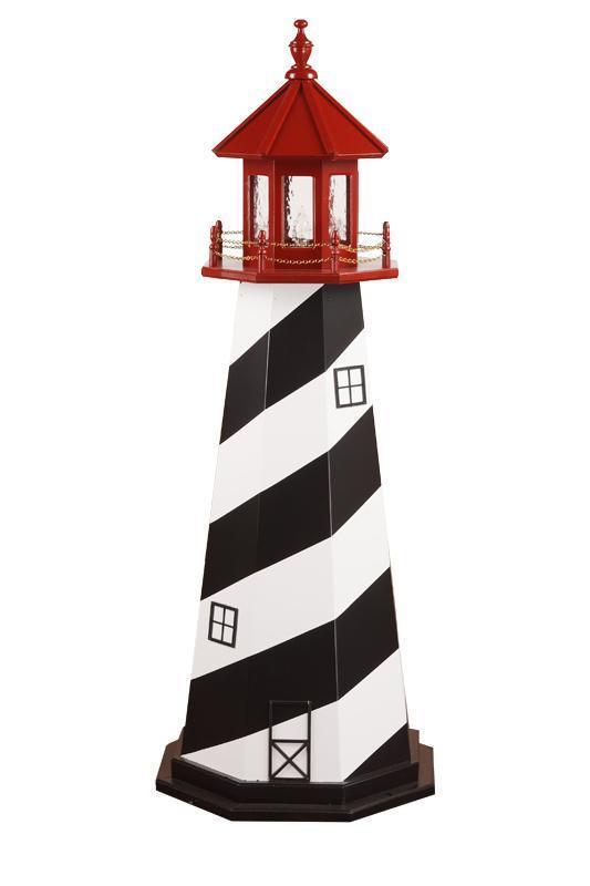 Amish Made St. Augustine, FL Wooden Garden Lighthouse