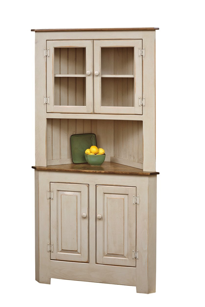 Wooden Kitchen Hutch ~ Built in corner dining room hutch get