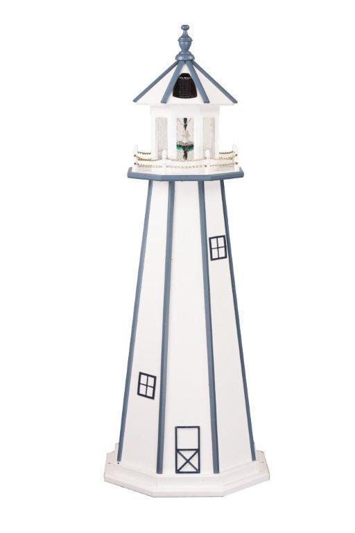 Amish Made Wooden Garden Lighthouse