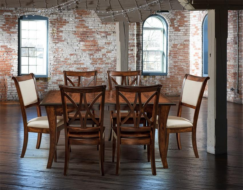 Shop The Look Amish Callahan Dining Set