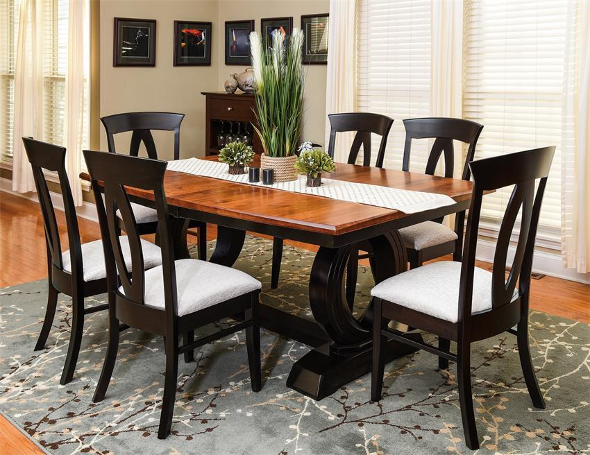 shop the look amish saratoga dining room set dining room itsevren