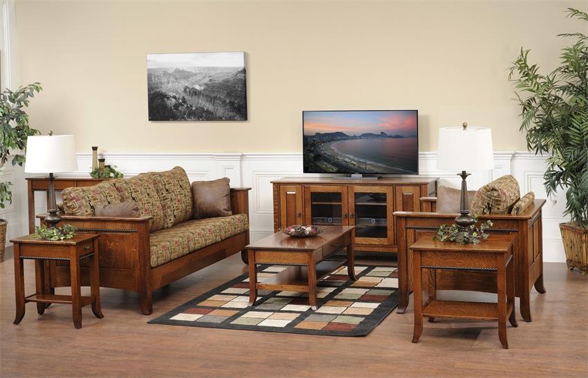 Shop The Look Cranberry Living Room Set