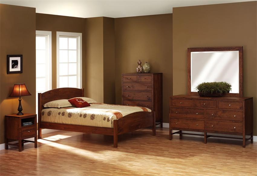 Shop The Look U003e Lynnwood Rustic Cherry Bedroom Suite