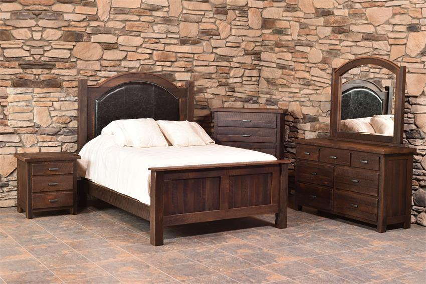 Shop The Look Reclaimed Wood Quincy Bedroom Set