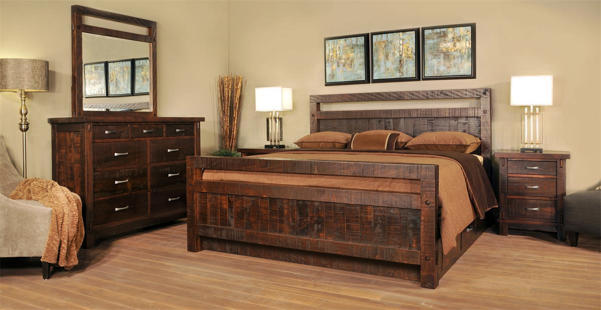shop the look ruff sawn timber bedroom suite