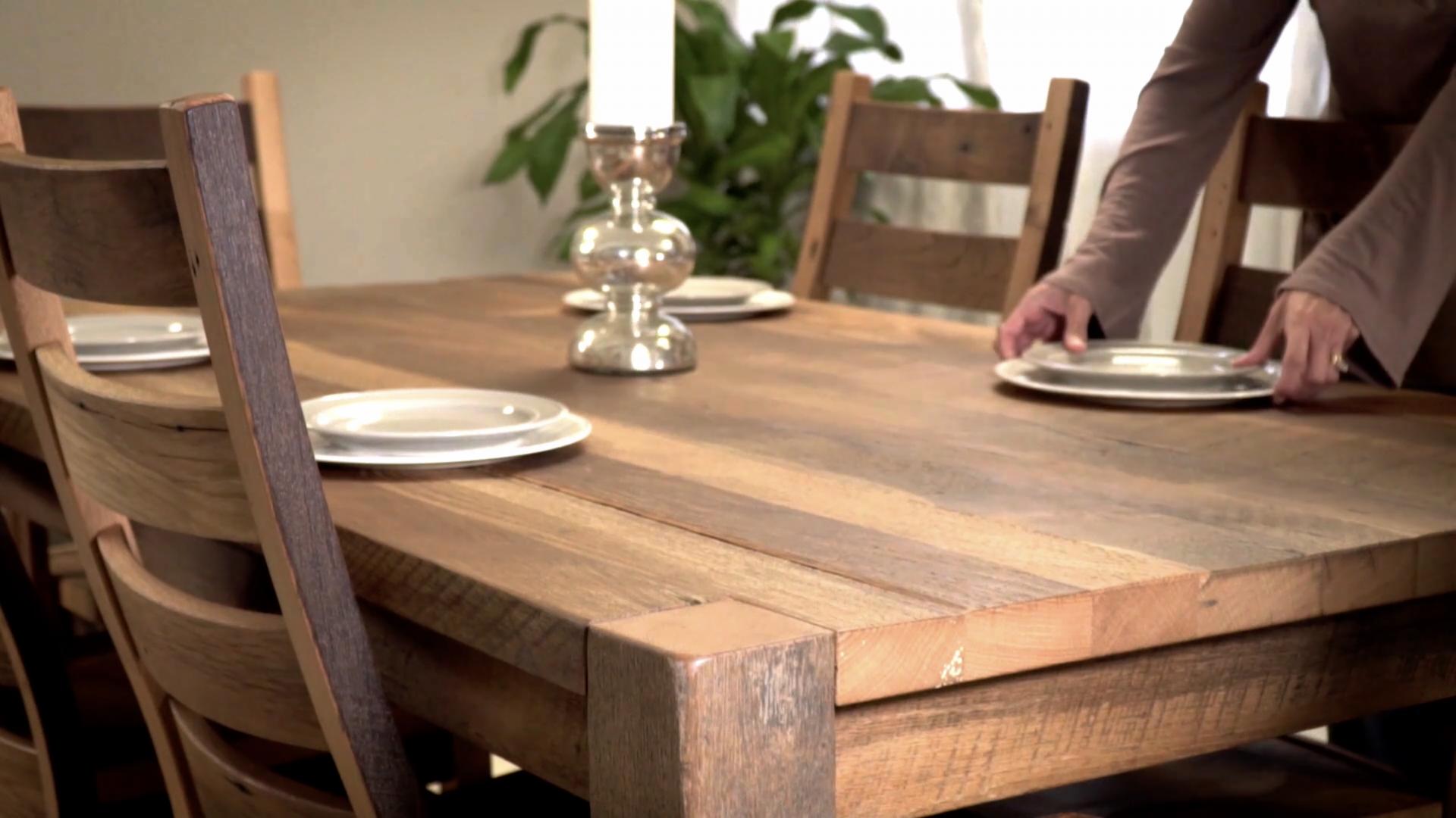 Barnwood Table Image