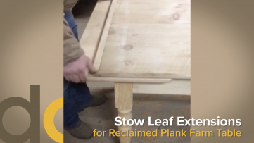 Standard vs Stow Leaf Table Extensions Video